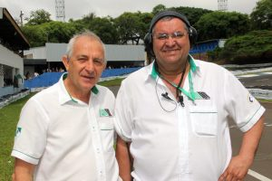 Rubens Gatti (presidente) e Bento Tino (vice-presidente) buscam mais agilidade no atendimento aos pilotos paranaenses (Foto: Mario Ferreira)