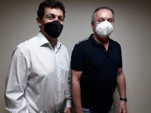 Renato Pompeu e Ângelo Giombelli vão comandar o Automóvel Clube de Cascavel nos próximos dois anos (Fotos: Divulgação)