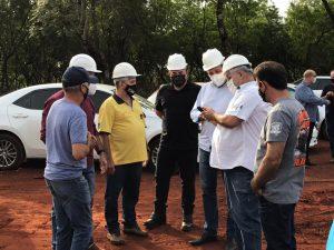 As obras da pista de arrancada de Foz do Iguaçu começam na última semana com uma visita técnico do prefeito Chico Brasileiro ao local (Foto: Divulgação)
