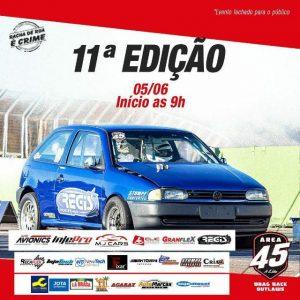Cartaz distribuído pelo promotor sobre o evento programado para este sábado no Autódromo Zilmar Beux (Foto: Divulgação)