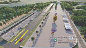 Complexo está sendo construído numa área de 71,9 mil m², em três etapas (Foto: Divulgação)