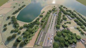A pista de arrancada de Foz do Iguaçu será construída na região de Três Lagoas (Foto: Divulgação)