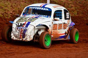 Jefferson Leopoldo de Pontes é o campeão da Old Fusca Velocidade A (Foto: Victor Lara)