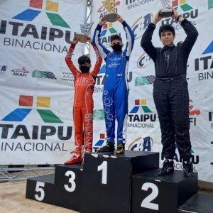 Firás Fahs confirmou o título da categoria F-4 Júnior com vitória na última etapa (Foto: Divulgação)