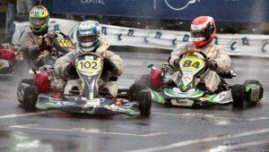 Fernando Sotogute é o campeão da categoria Máster no Paranaense Light de Kart de 2021 (Foto: Genésio da Silva/Divulgação)