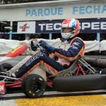 O curitibano Felipe Bronoski ganhou a F-4 Graduados ao vencer as duas baterias da categoria F-4 Graduados